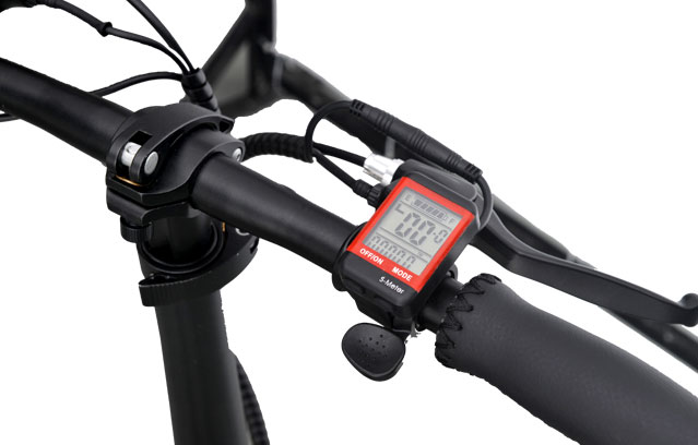 12 inch folding electric bicycle handle bar