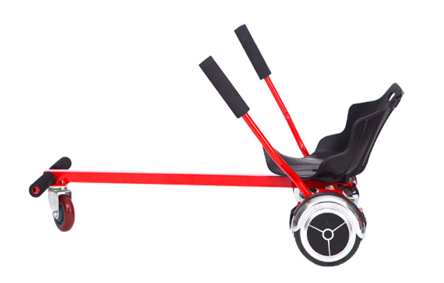 Go kart for two wheel self balance scooter