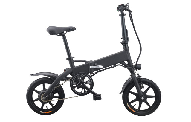 Knight folding electric bicycle portable with 14 inch wheels