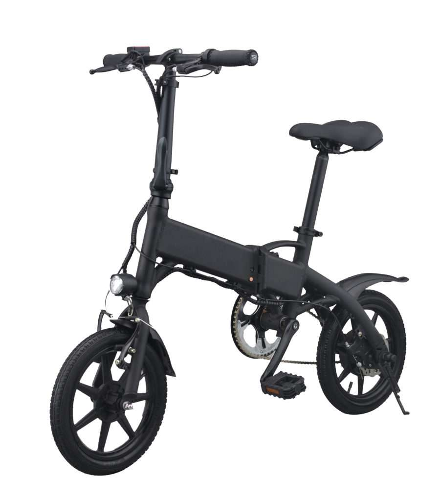 daily travel with folding electric bicycle