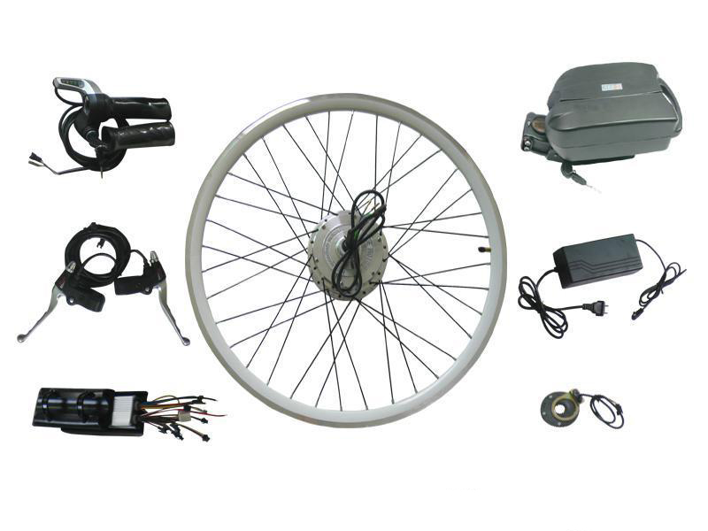 neccessary parts to turn a bicycle to an electric bike