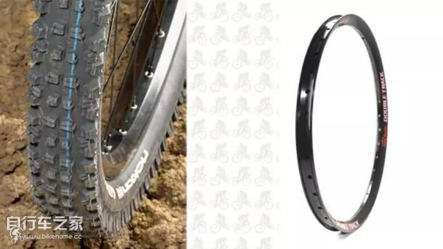 super width tire and rim for bicycle