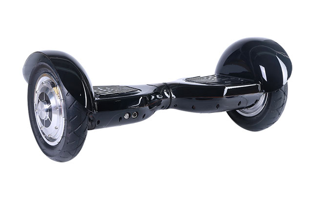 10 inch electric self balance scooter in black color