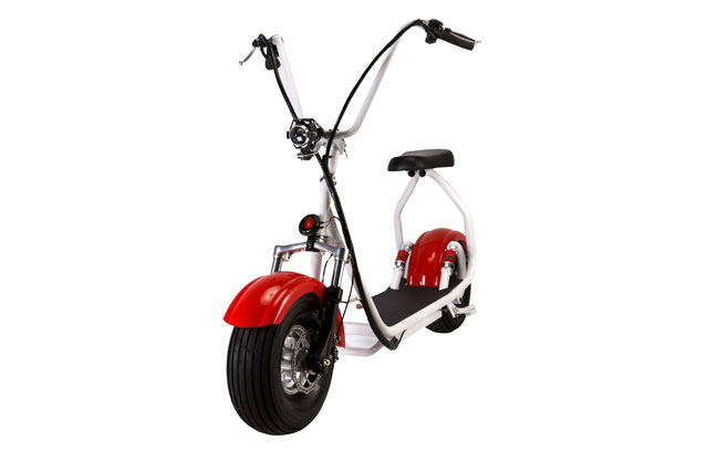 15 inch mini seev citycoco scooter in red color