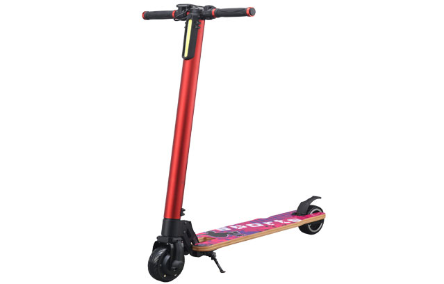 5 inch electric scooter in red color