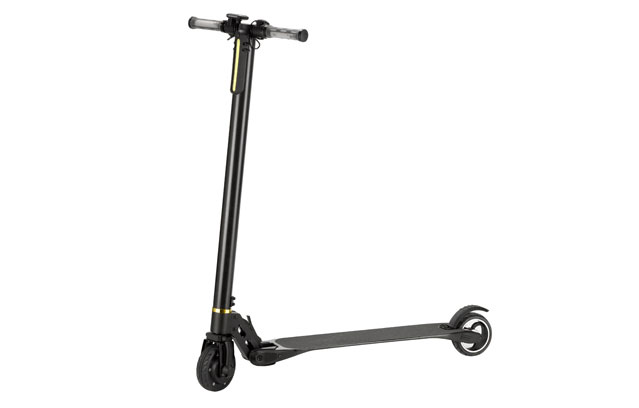jack hot electric kick scooter 5 inch in black
