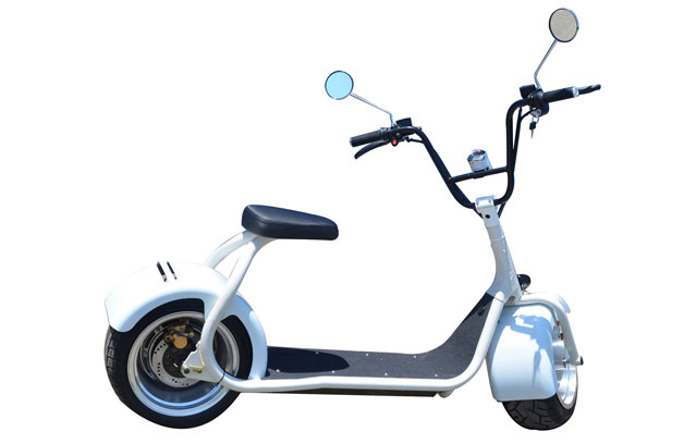 new citycoco scooter in white color