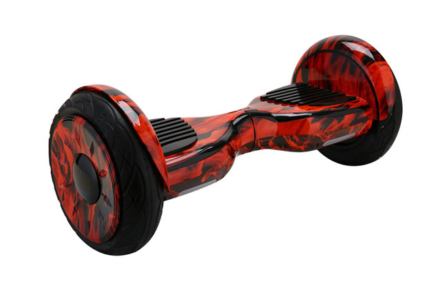 newest 10 inch balance scooter in flame color