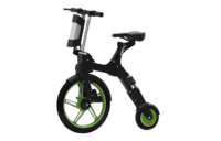 notebike green in black color