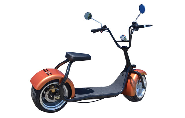 orange citycoco scooter at cheap price