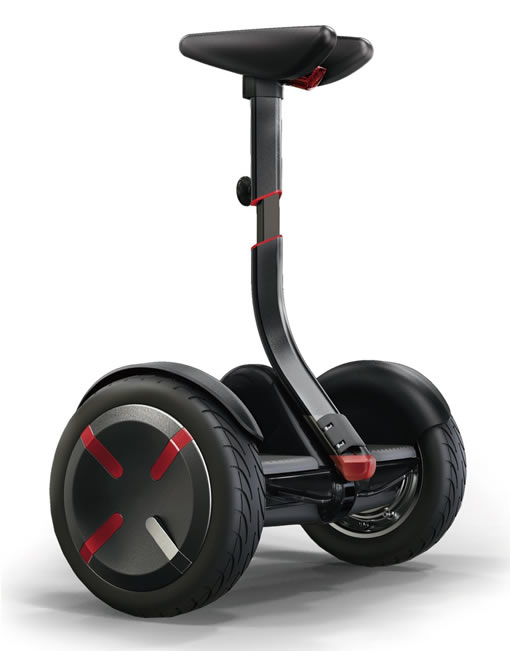 two wheels knee controlled hoverboard